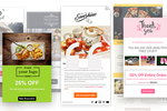 Captura de pantalla de FireDrum Email Marketing: 100's of free email templates that can be used as is or customized to your business!
