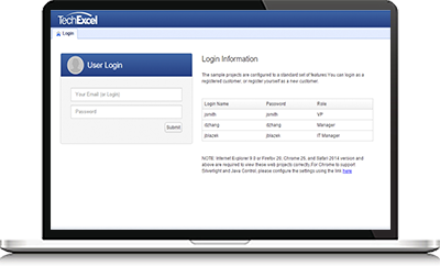 The customer web portal enables users to search for resolution prior to submitting a ticket