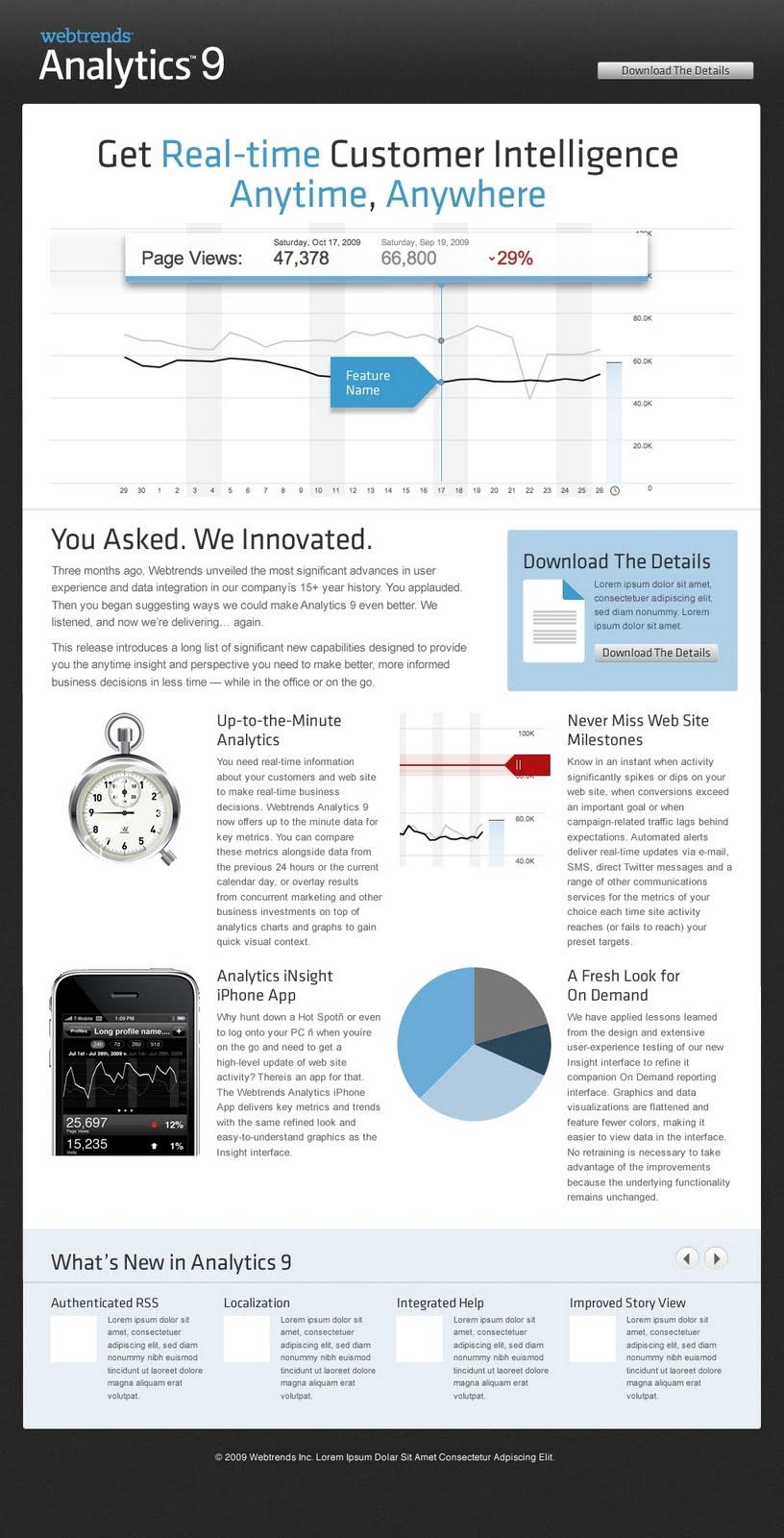 Webtrends Software - WebTrends - Analytics - Analytics 9