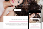 SalonBuilder screenshot: Create custom website designs with SalonBuilder