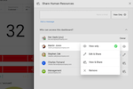 Reveal screenshot: Reveal collaboration tools