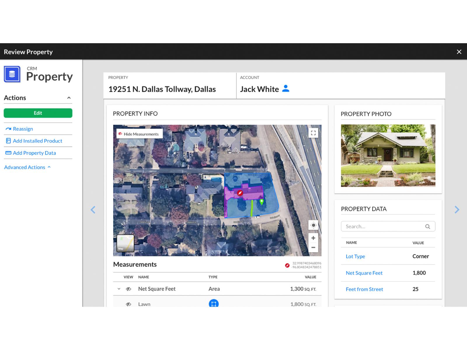 Service Autopilot measure properties online