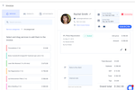 Yocale screenshot: Yocale invoicing