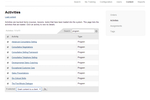 Firmwater LMS screenshot: Easy administration of your course library. Grant course access to your clients.