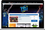 SportsEngine screenshot: The RallyMe integration with SiteBuilder allows fundraising campaigns to be launched and run directly within a team website