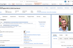 Exponent Case Management screenshot: Case record module