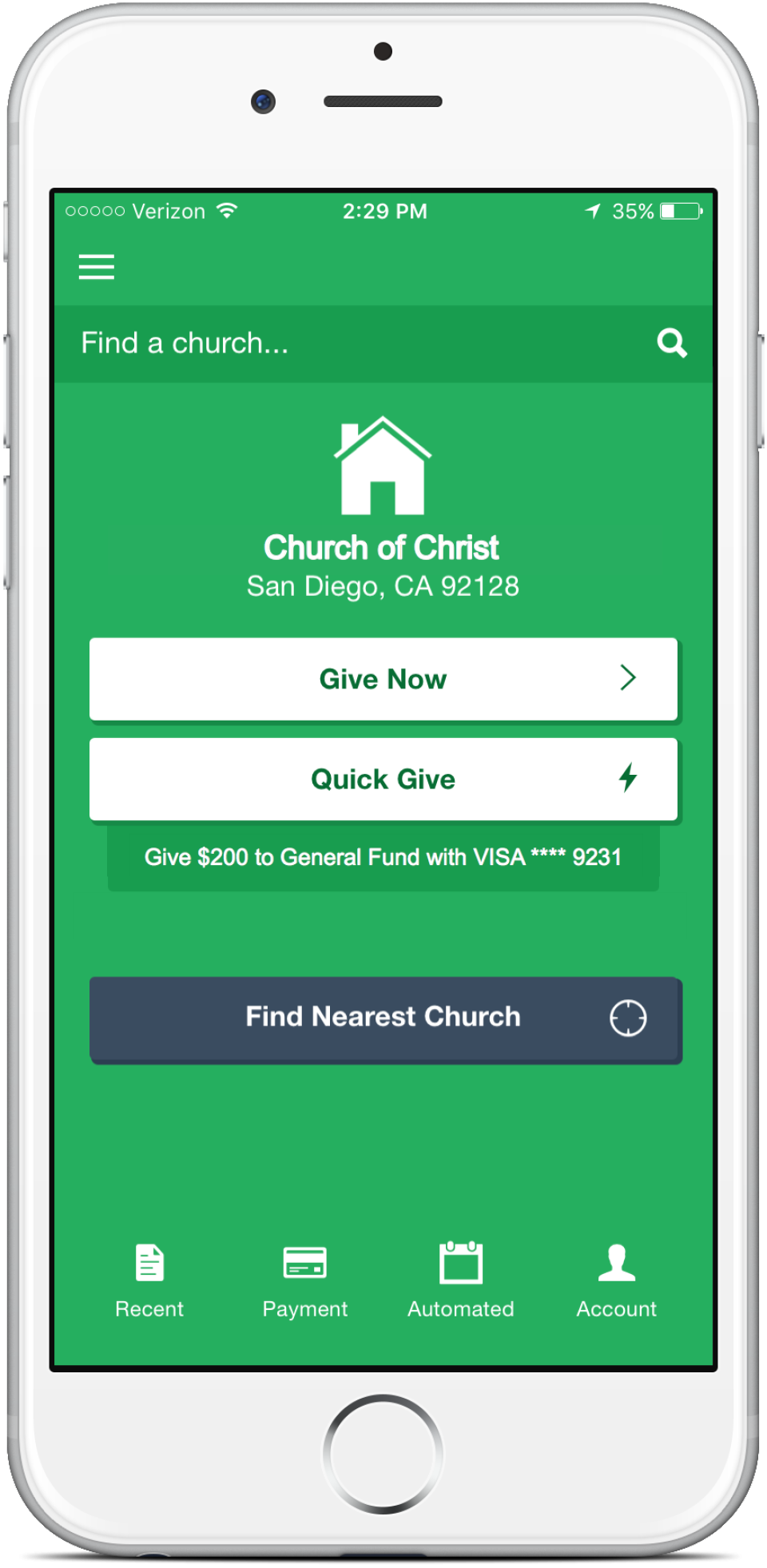 Tithe.ly Software - 2