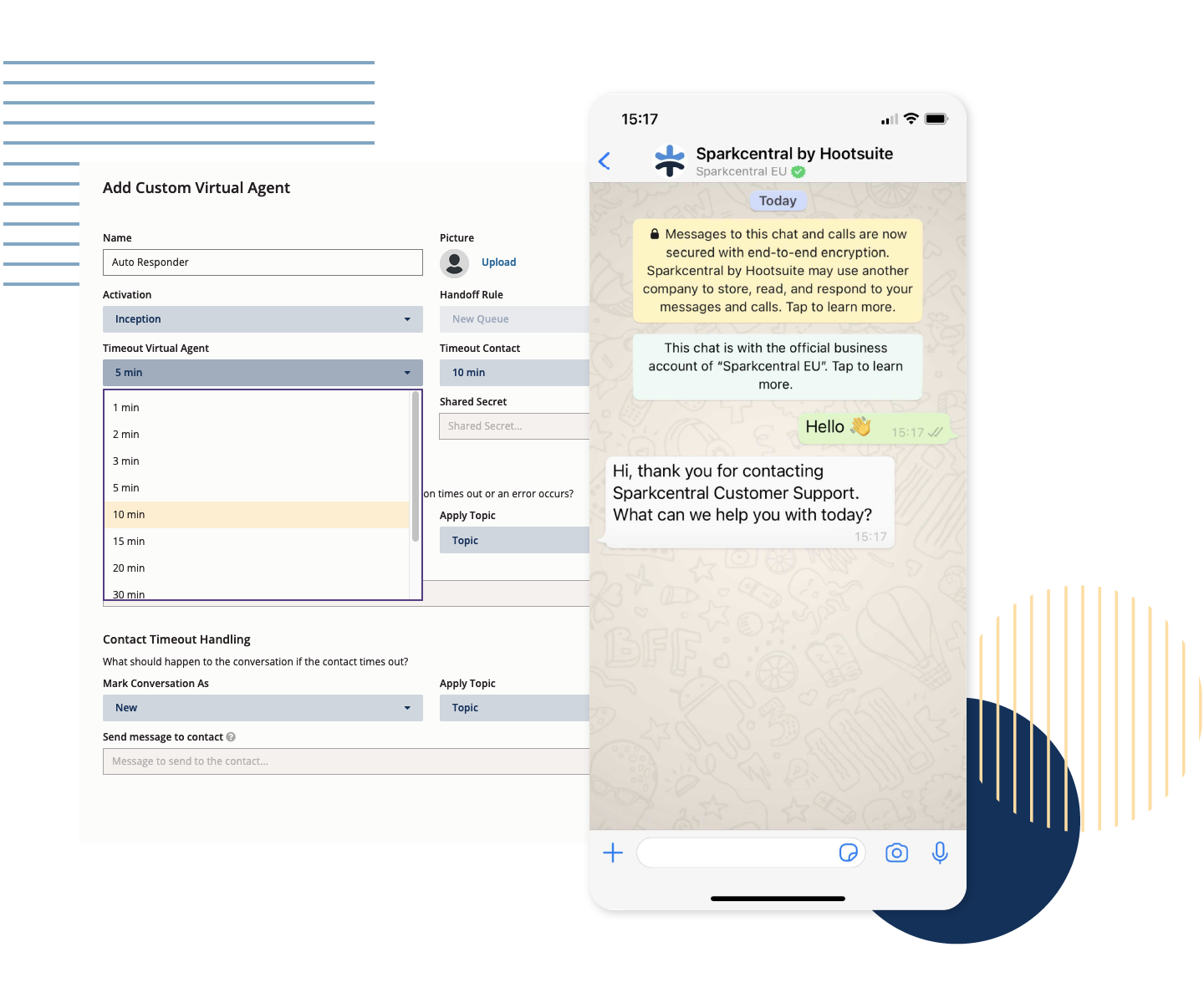 Chatbots - Leverage the same bot across different interfaces to automate engagement, quickly respond, and optimize your workflow