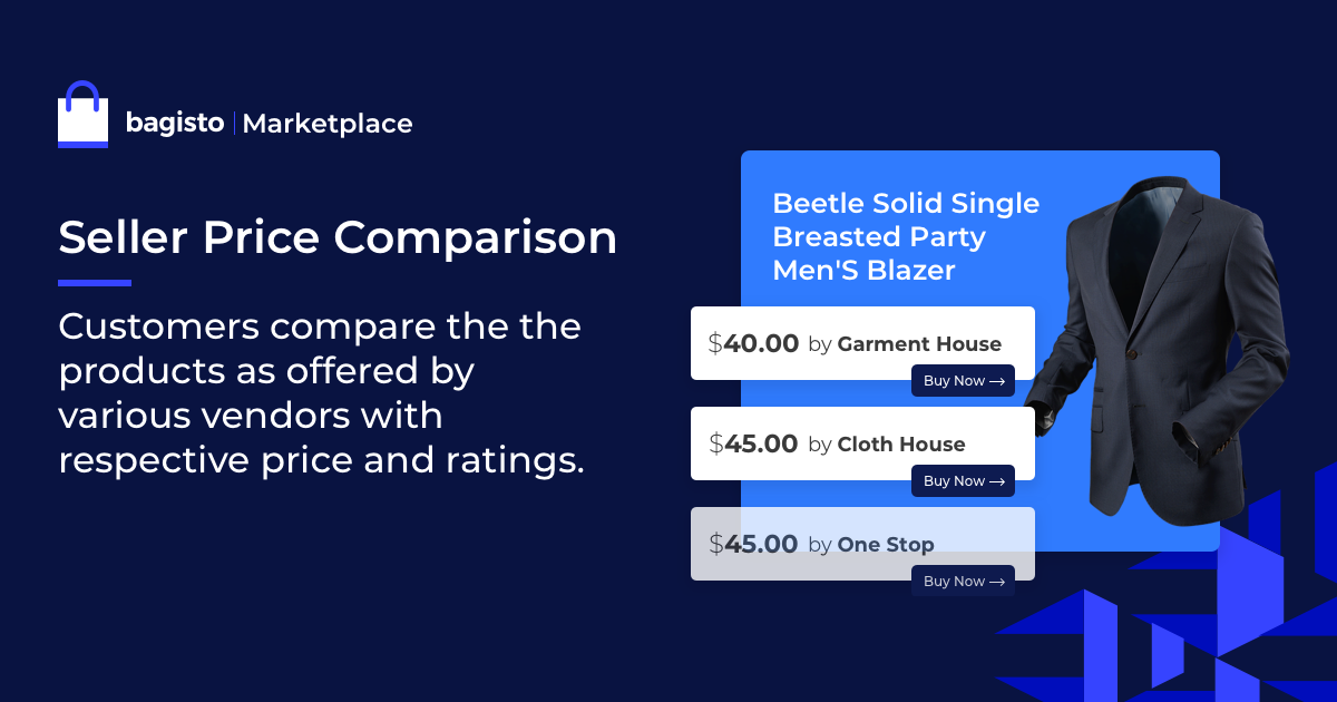 Bagisto Software - bagisto Seller Price Comparison