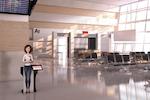 PRSONAS-Wayfinding screenshot: Airport Digital Wayfinding