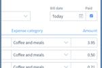 Sunrise Screenshot: Approve expense claims