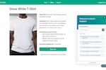 Freshdesk screenshot: Self-service portal