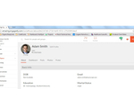 Engagedly screenshot: Engagedly's employee directory and profile