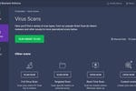 Avast Business Antivirus screenshot: Avast Business Antivirus virus scans
