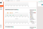 Dhound screenshot: The WordPress plugin allows users to monitor security on their WordPress website