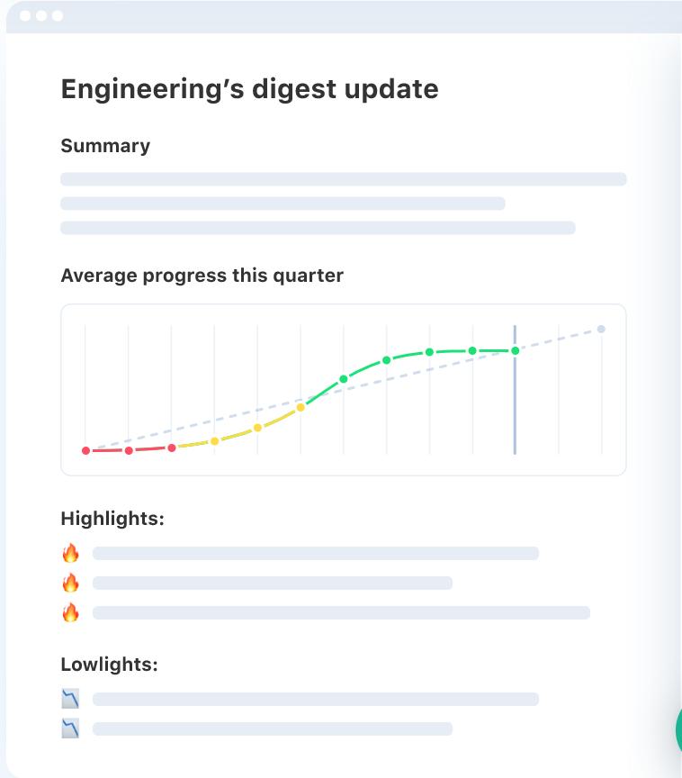 Ally progress tracker