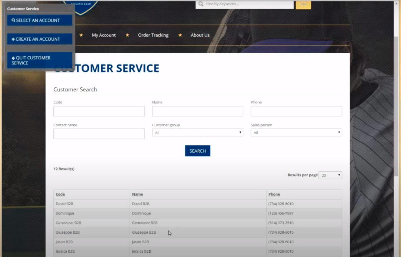 k-eCommerce Software - k-eCommerce customer service management