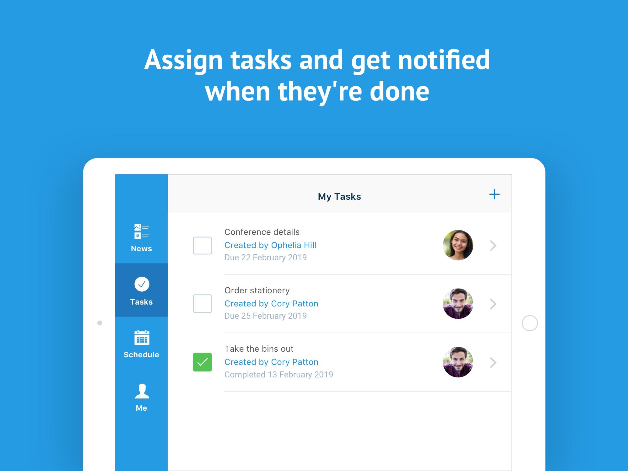Deputy Software - Deputy task assignments