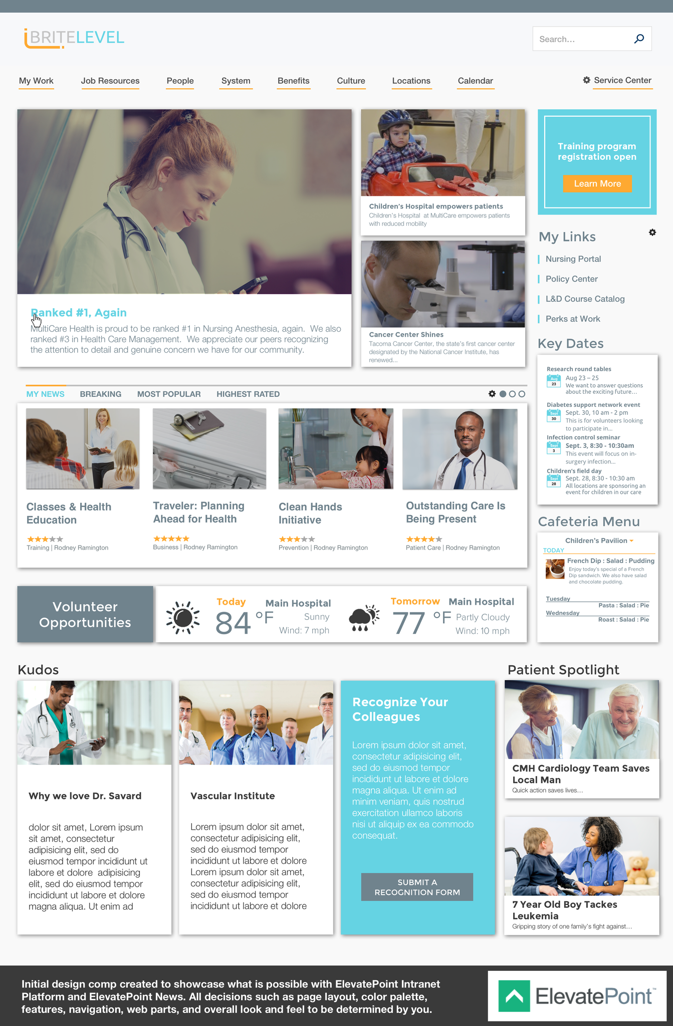 ElevatePoint homepage