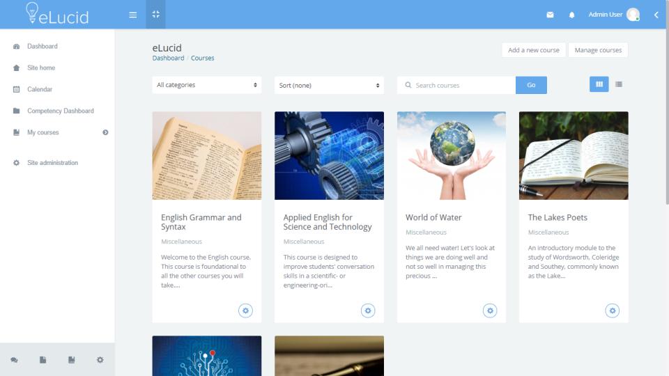 eLucid intuitive UI/UX screenshot