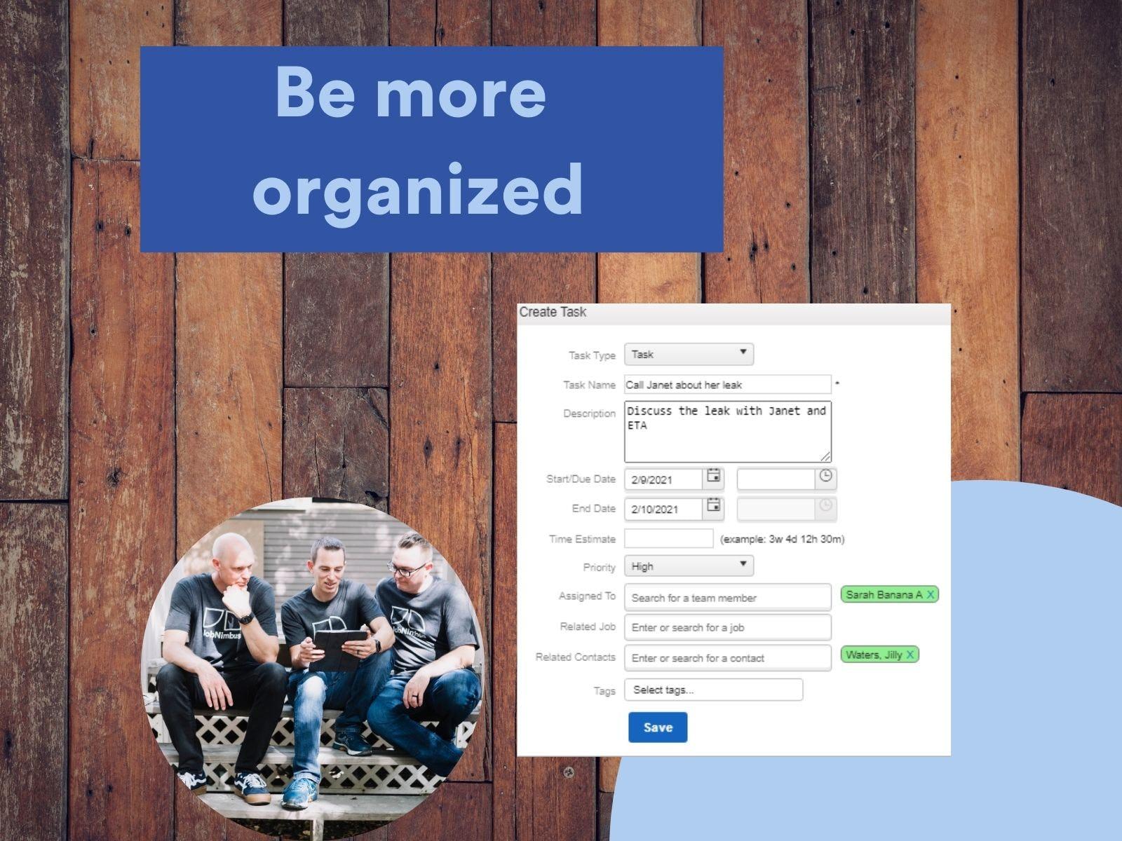 JobNimbus Software - Be More Organized with JobNimbus