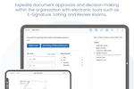 Azeus Convene screenshot: Voting and Approvals