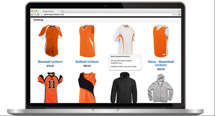 Create online store and sell merchandises with Sports Illustrated Play