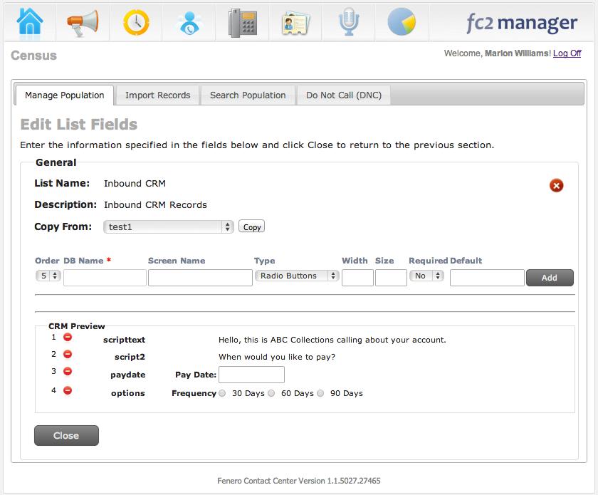 Qubicles Software - Edit list fields