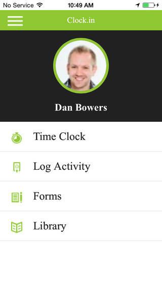 clock.in screenshot