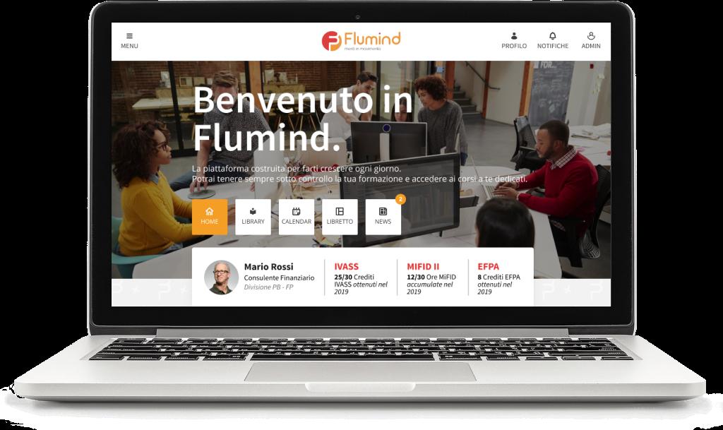 Flumind homepage