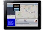 ServiceMax screenshot: ServiceMax iPad app map