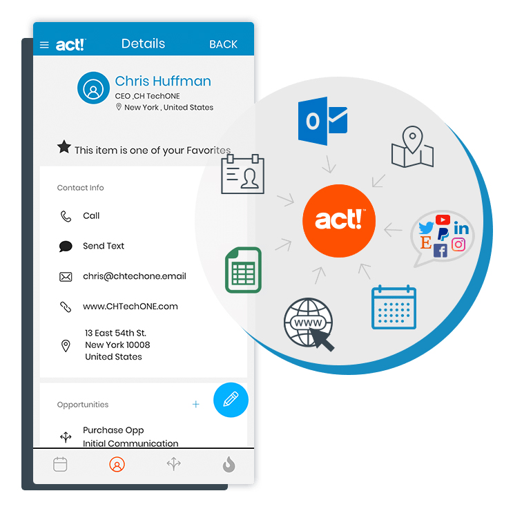 Act! CRM Appli Mobile