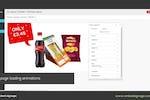Capture d'écran pour embed signage : embed signage layout builder