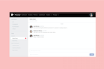 Capture d'écran pour Podium : Podium Teamchat means private, secure team discussions to make sure you are all on the same page, can easily manage customer information and keep morale high.