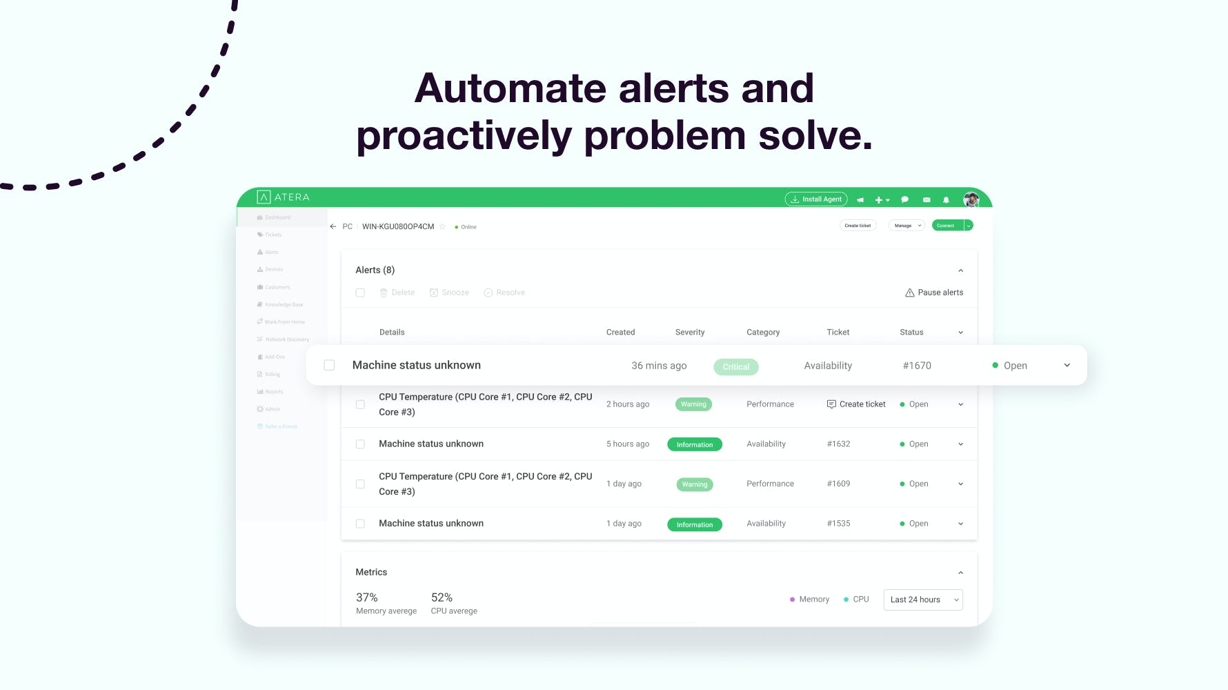 Atera Software - Easy IT Automation