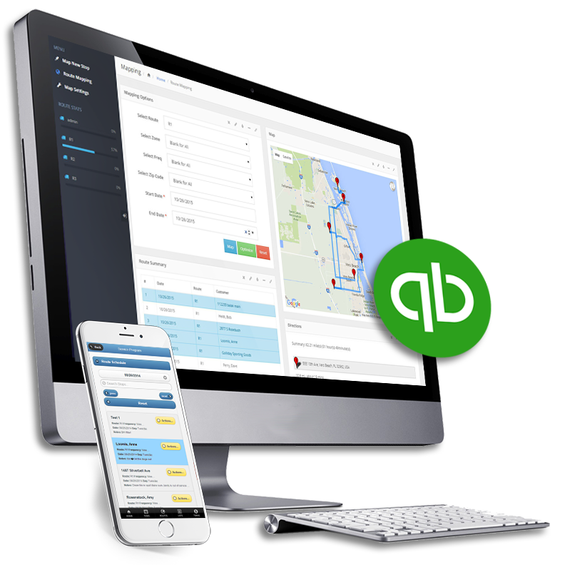 The Service Program screenshot: The Service Program is a multi-purpose service business management add-on for QuickBooks Desktop and QuickBooks Online