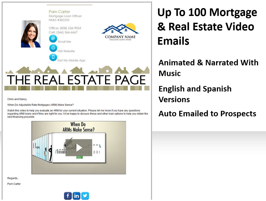 Mortgage and Real Estate Videos
