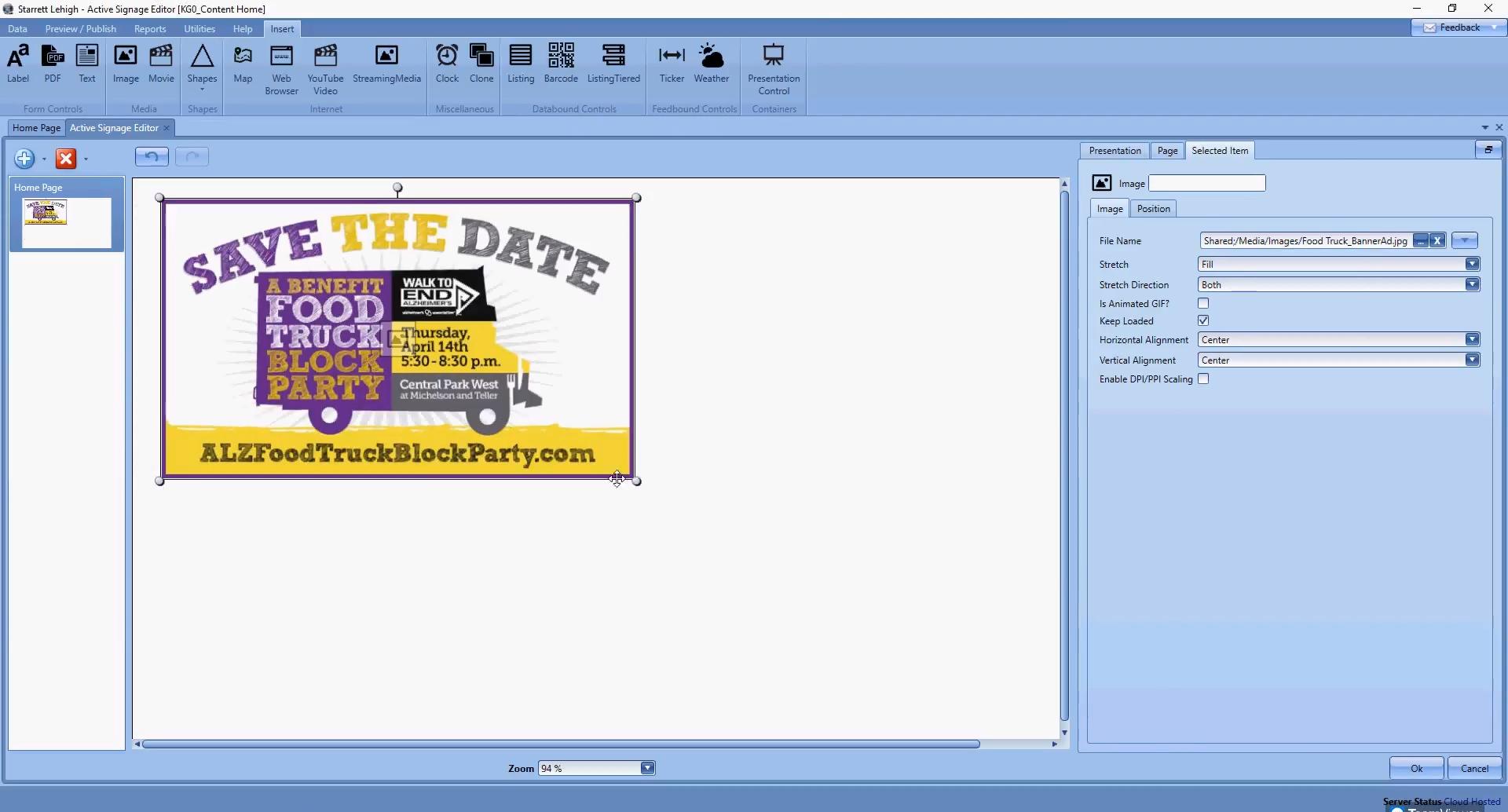 Navigo Digital Signage Software - 2