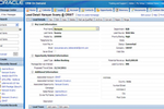 Oracle CRM On Demand screenshot: Key lead information and details