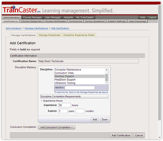 TrainCaster LMS Software - 5