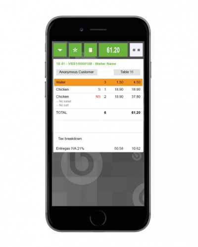 The responsive retail POS can be deployed across a range of devices