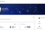 Captura de pantalla de eXo Platform: Profile