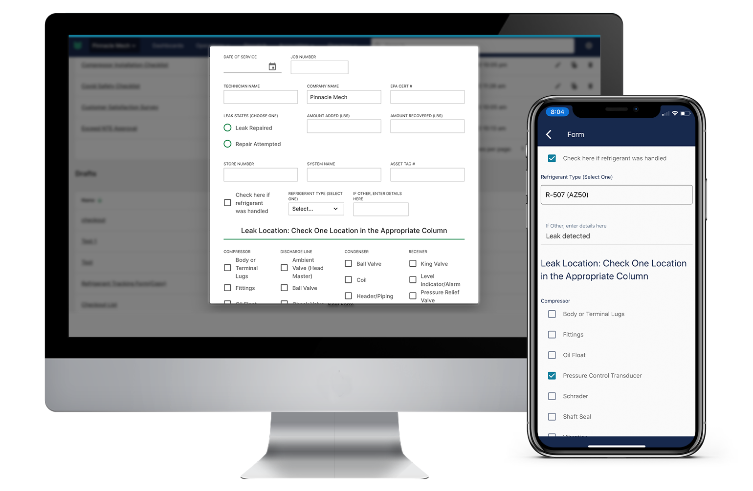 BuildOps Custom Forms: Create and customize forms, then attach to a job or assign to your technicians. Forms enforce quality, consistency, and proper documentation. And they can be used for anything you want, from COVID-19 Safety to Refrigerant Tracking.