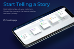 CrossEngage Screenshot: Storytelling