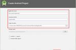 PixelPin screenshot: PixelPin creating Android authentication project screenshot