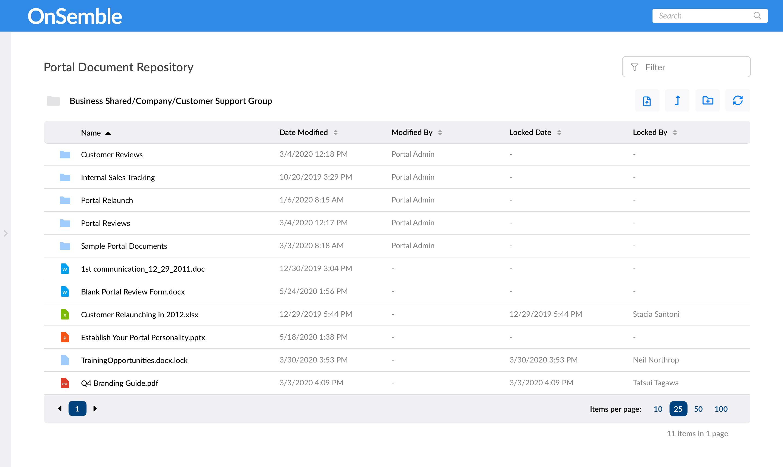 OnSemble Software - Document Management %>