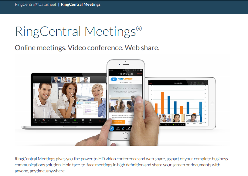 RingCentral Video Software - 1