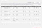 Captura de pantalla de MemberClicks: Transaction Report - Memberclicks