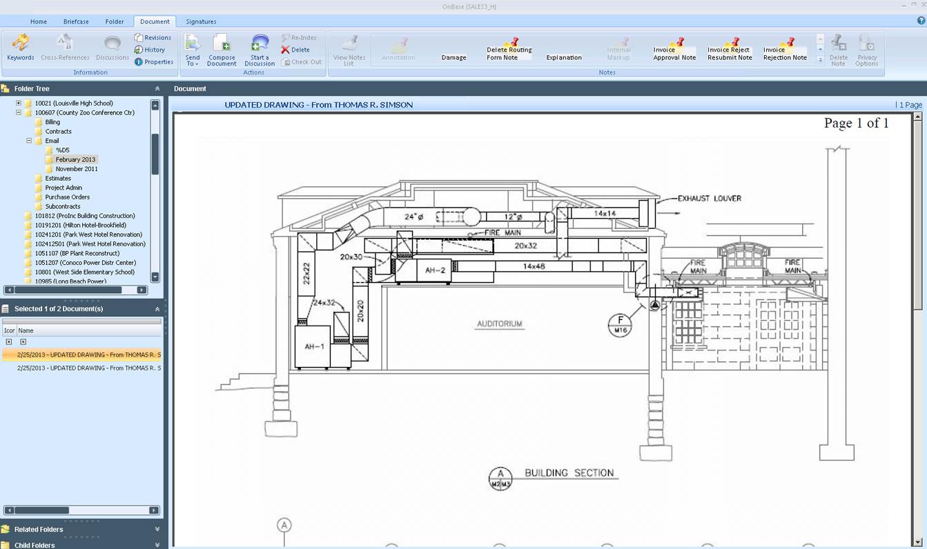 PENTA Service Management Software - Enterprise Content Management
