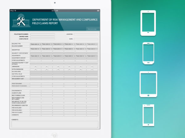 FORM.com screenshot: Form.com allows forms access on any device